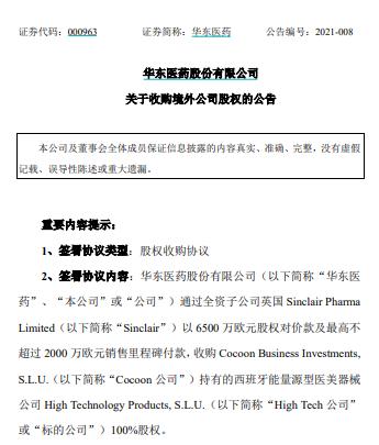 """再扩医美版图 华东医药会是下一个""""爱美客""""吗?"""