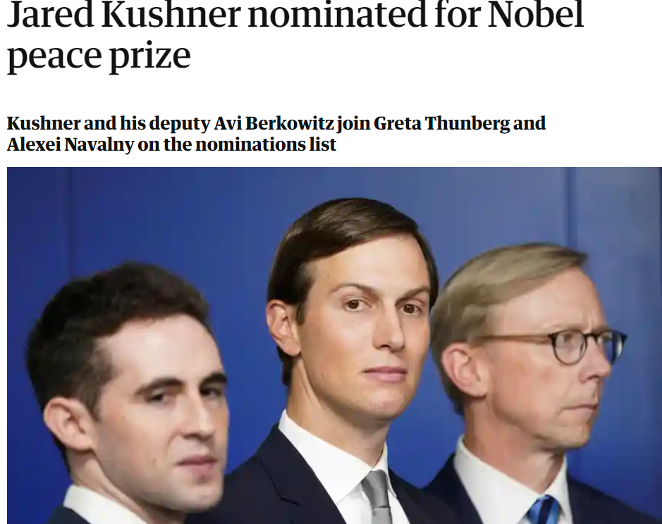 堂堂哈佛大学的名誉教授 竟提名他拿诺贝尔和平奖