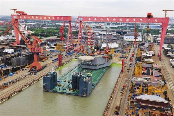 中国造船技术的崛起,中企拿下84亿订单,斩获40%的市场全球第一