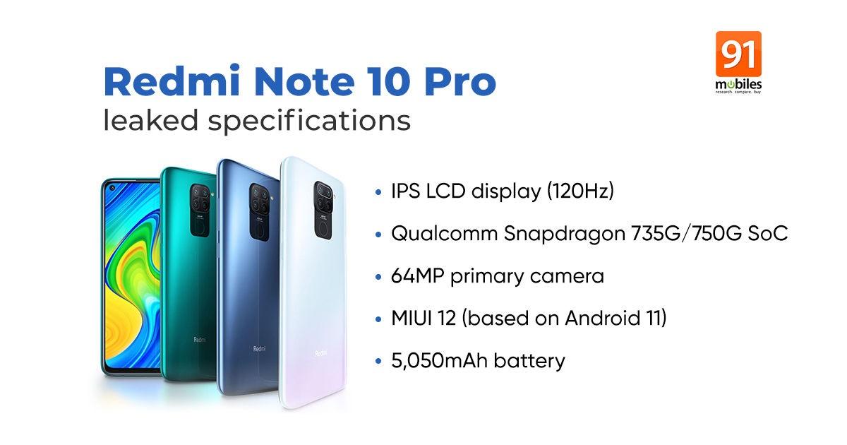 Redmi Note 10 Pro Max 曝光:最高 8GB 内存,三款配色