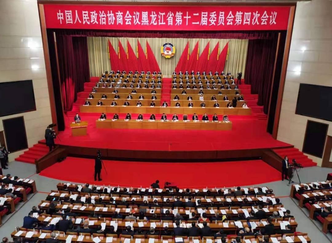 韩立华、曲敏当选黑龙江省政协副主席图片
