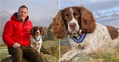 宠物犬助万名患者摆脱精神困扰 获动物界大英帝国勋章
