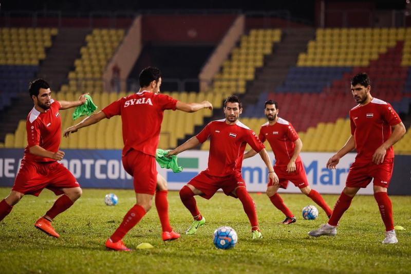 国足40强赛同组对手叙利亚队确认3月同巴林队热身