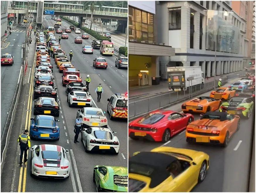 香港街头一幕图片