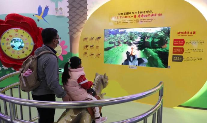 安宁科技馆:春节不打烊参观逾千人