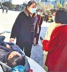 低血压只40,88岁退役老兵晨练晕倒