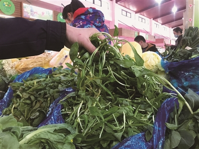时令蔬菜新鲜上市 余杭人开启舌尖上的春天