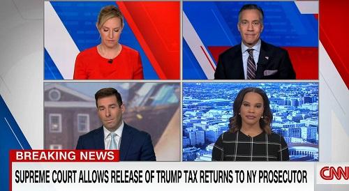 CNN:检察官赢得最高法官司翻查特朗普纳税记录 追杀前总统财务问题翻新篇