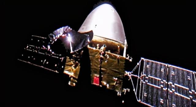 美国毅力号刚刚着陆,火星好消息再次传来,天问一号进入停泊轨道