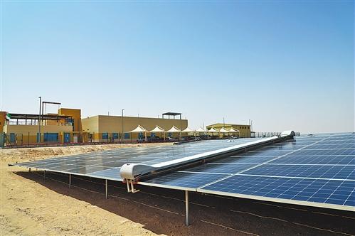 阿联酋大力发展可再生能源 到2025年预计产能年复合增长率将超31%