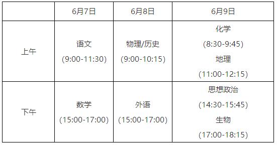 江苏:2021年普通高校招生考试安排和录取工作实施方案
