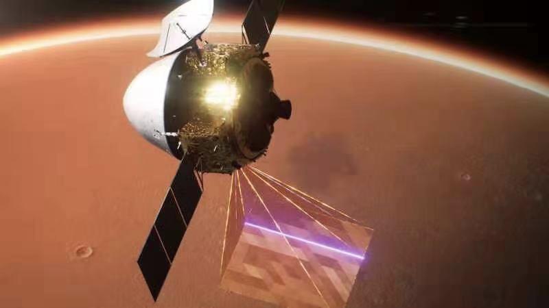 天问一号进入火星停泊轨道
