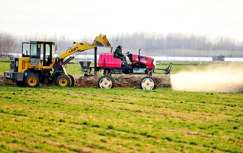 农业科技助力小麦春季管理