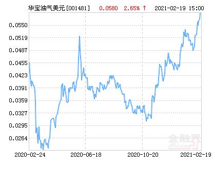 华宝油气美元(QDII-LOF)净值上涨2.76% 请保持关注