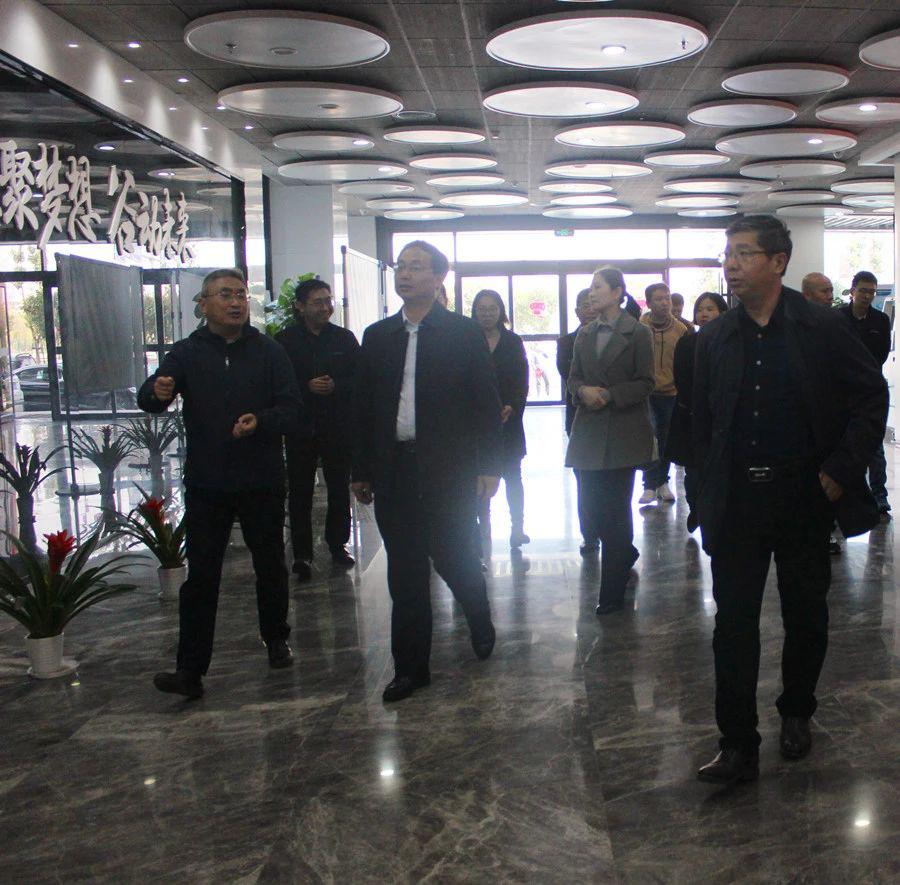 南昌市委宣传部副部长熊中高一行赴慧谷产业园开展调研