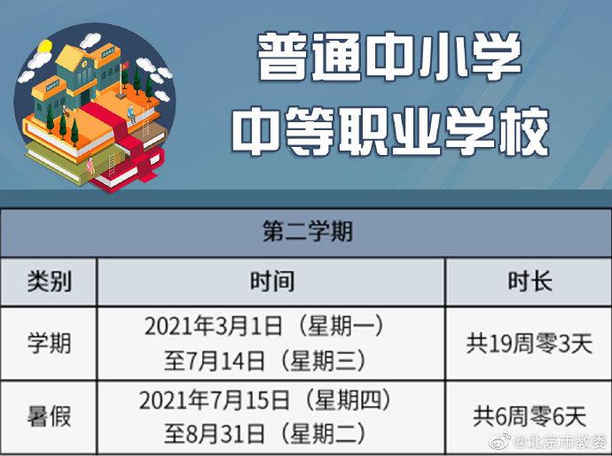 北京:中小学3月1日起开学,校外教育机构3月3日起开学