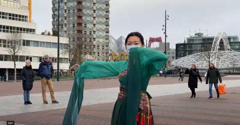 2021年全荷中国留学生春节联欢会线上举行