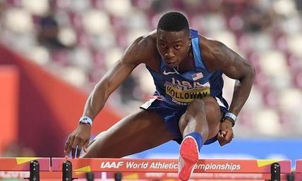 美国选手霍洛韦打破60米栏室内世界纪录