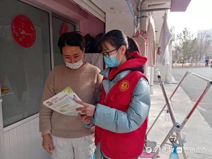 安泰社区开展预防一氧化碳中毒宣传彩页发放宣传活动