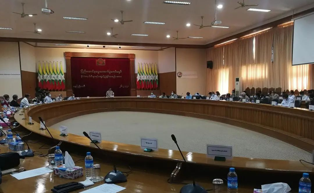 缅甸新选举委员会刚刚宣布!图片