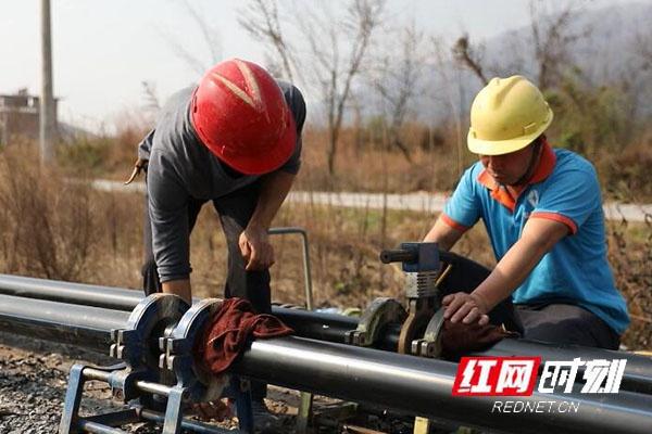 江华全力推进城乡供水一体化建设