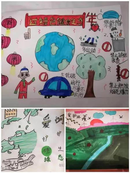坊子区第二实验学校童梦课程:绿色中国年