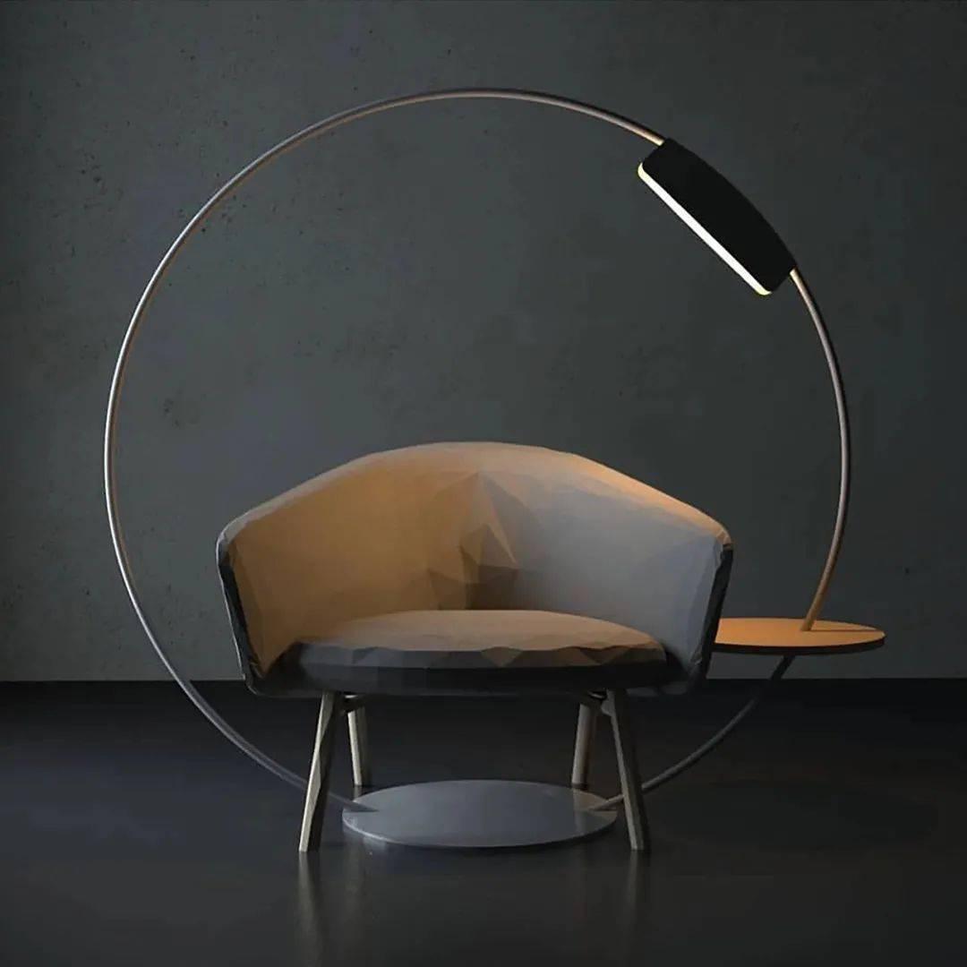 10 个落地灯设计,兼具质感与趣味性
