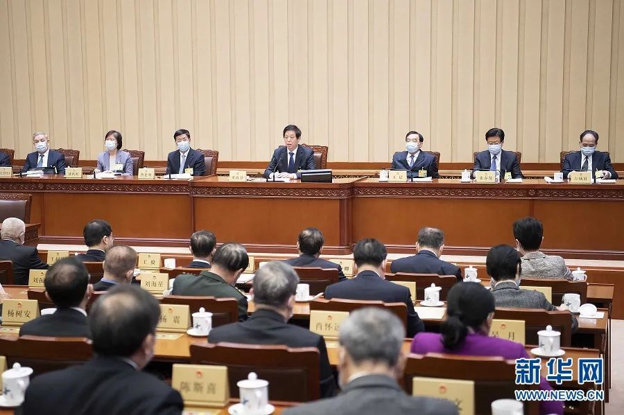 十三届全国人大常委会第二十六次会议在京举行图片