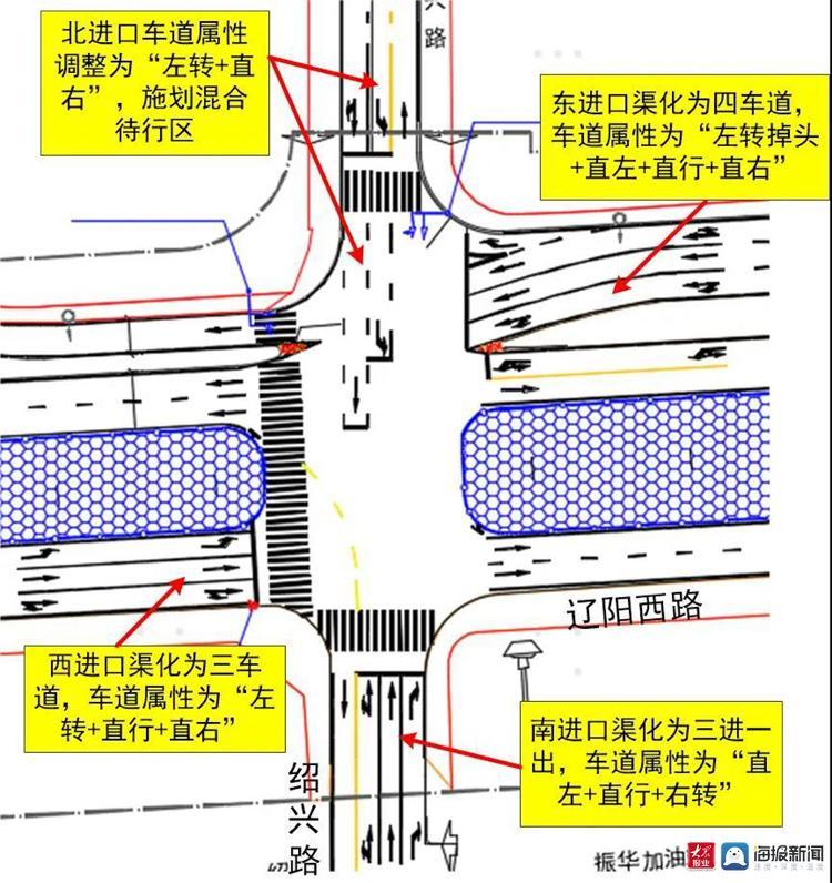 青岛交警公示!这些路段交通有调整