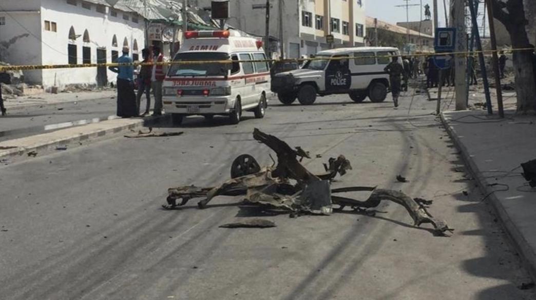 索马里首都摩加迪沙一天发生两起爆炸袭击