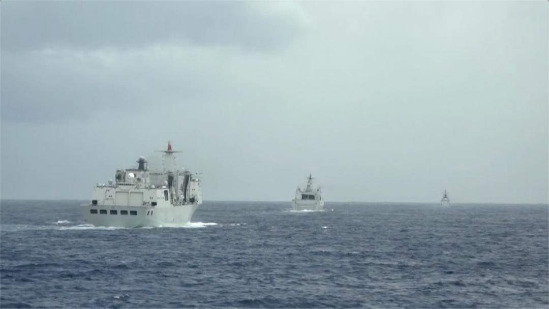 视频 三大战区海军,密集练兵