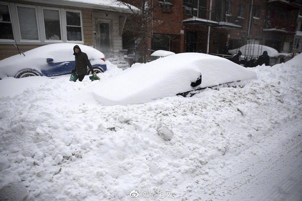 暴风雪致美国纽约等地进入灾难应急状态