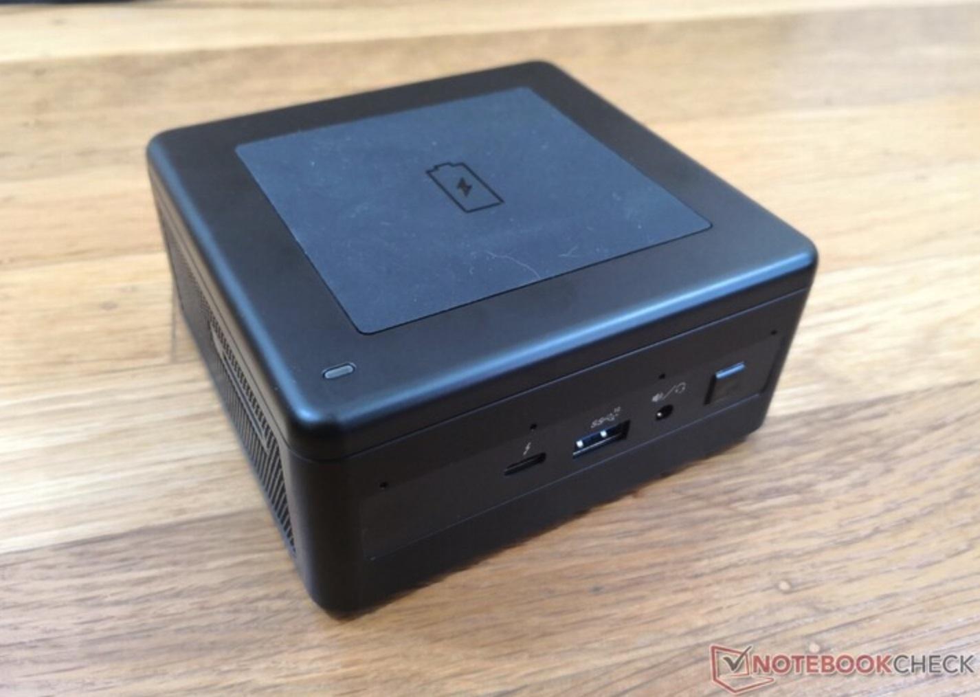 外媒测试英特尔新款 NUC 11:支持 15W 无线充电