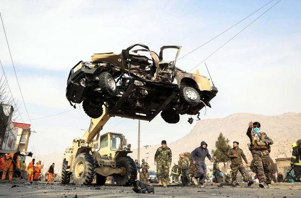 英媒:美报告建议暂缓撤离驻阿美军