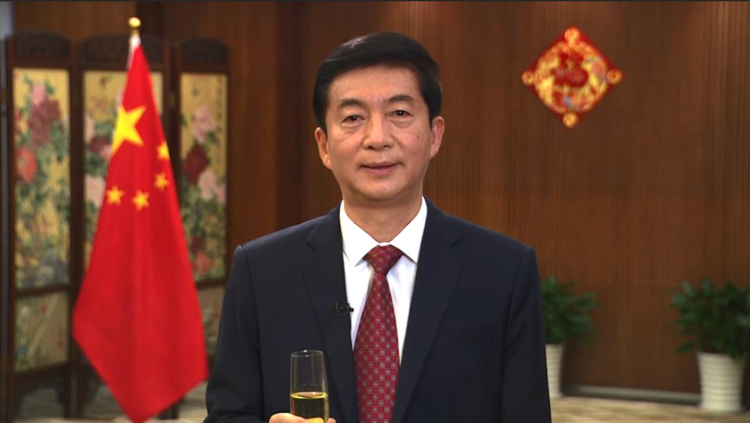 骆惠宁在香港中联办新春云酒会致辞:让香港这个家变得更好