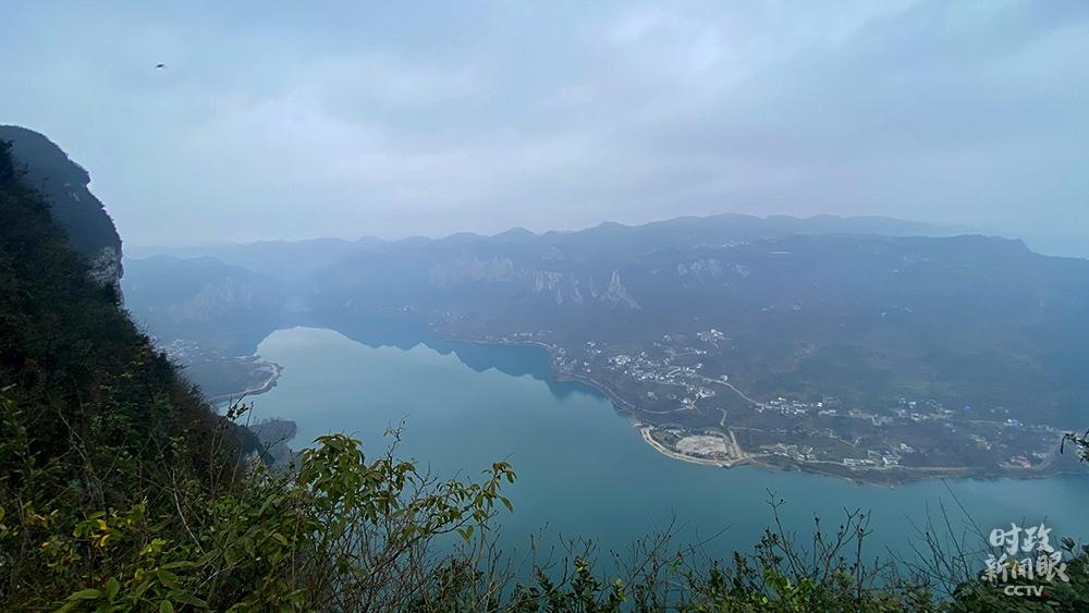△乌江六冲河段(总台央视记者王皓宇拍摄)