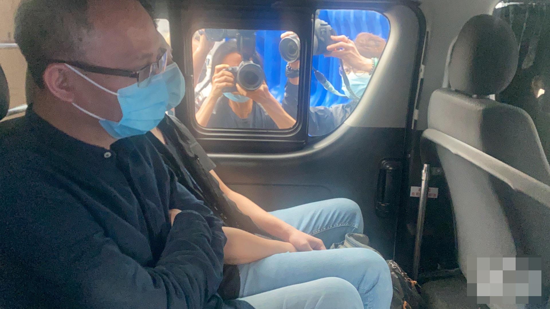 香港一主持人被港警国安处拘捕