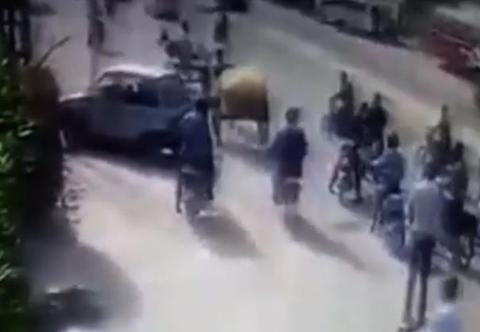 巴基斯坦发生枪击案一名中国公民受伤 现场曝光(图
