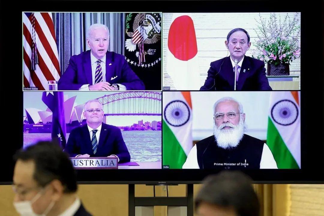 鬼鬼祟祟:开会大谈中国 声明却对中国一个字不敢提图片