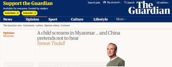 英媒这篇文章 比昨天外交部遇到的那个问题更搞笑图片