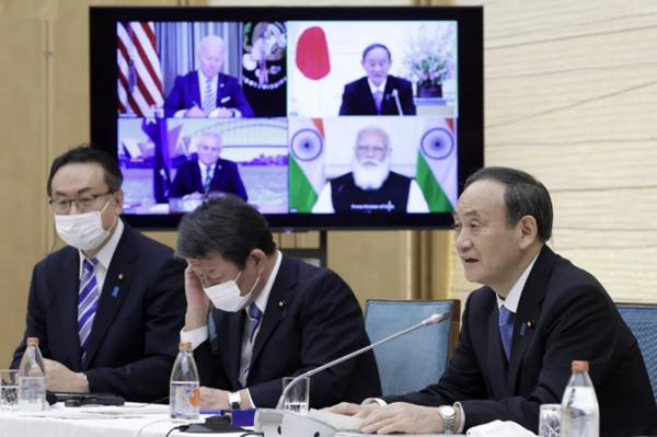 """想借""""四方机制""""制衡中国,日本请别再一厢情愿"""