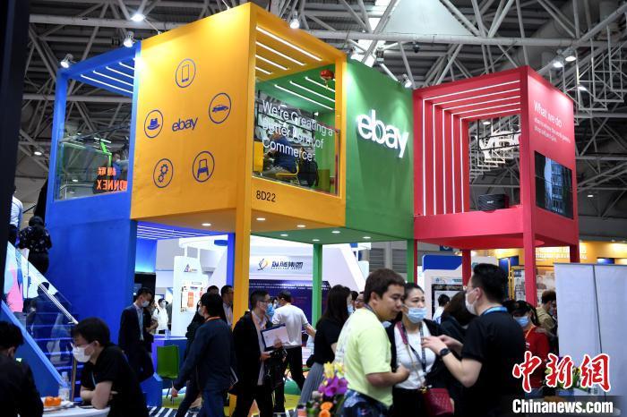 首届中国跨境电商交易会在福州启幕图片