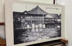 """泉城古稀老人100幅焦墨画再现近百年前""""老济南"""""""