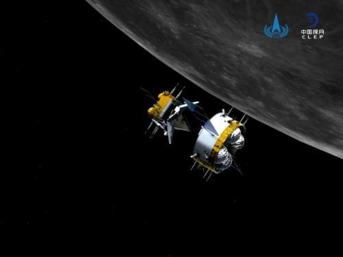 嫦娥五号轨道器成为中国首颗进入日地L1点探测轨道的航天器图片