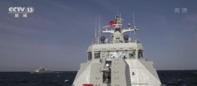海军:海上多课目训练 锤炼舰员专业技术能力