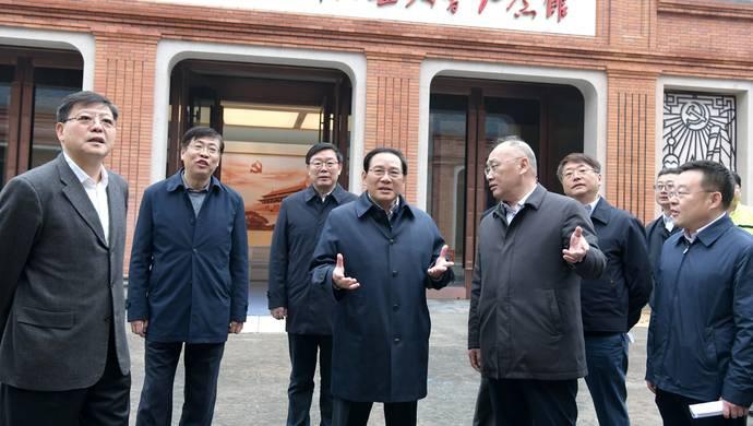 李强再赴中共一大纪念馆和一大会址抓进展:建好红色地标守好精神家园