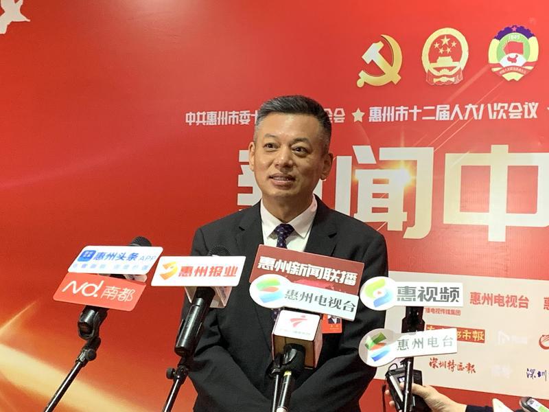 【聚焦惠州两会】惠州大亚湾管委会主任王滨:大项目+高质量管理,推动世界级绿色石化产业基地建设