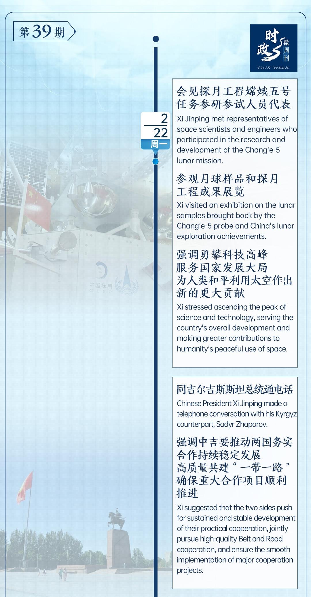 时政微周刊丨总书记的一周(2月22日—2月28日)排行图片新闻