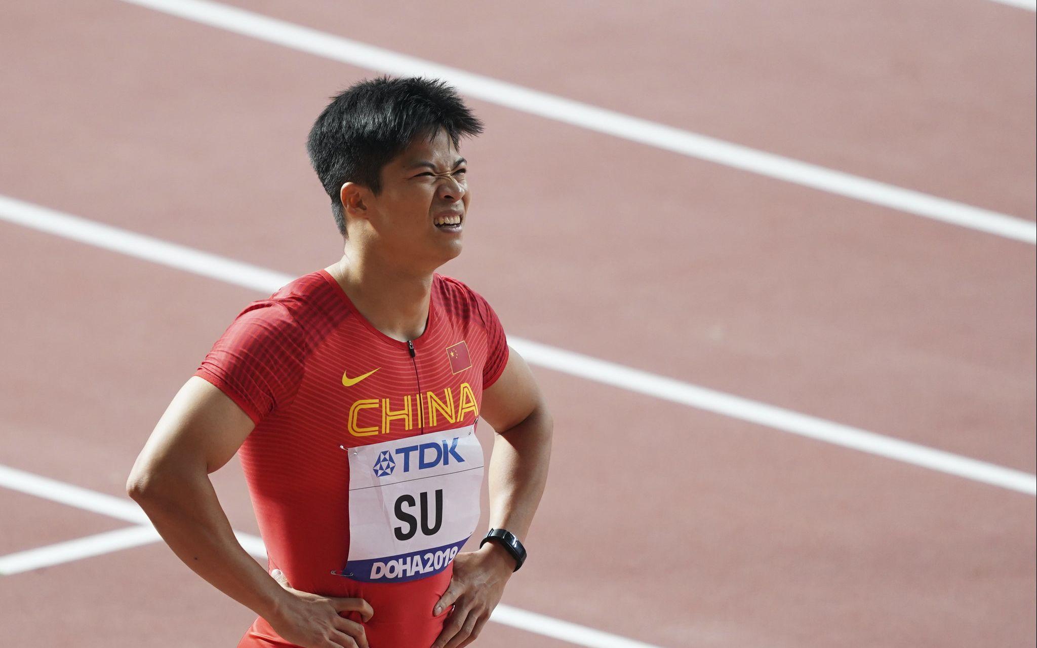 苏炳添新赛季百米首秀10秒05 成绩暂列世界第一图片