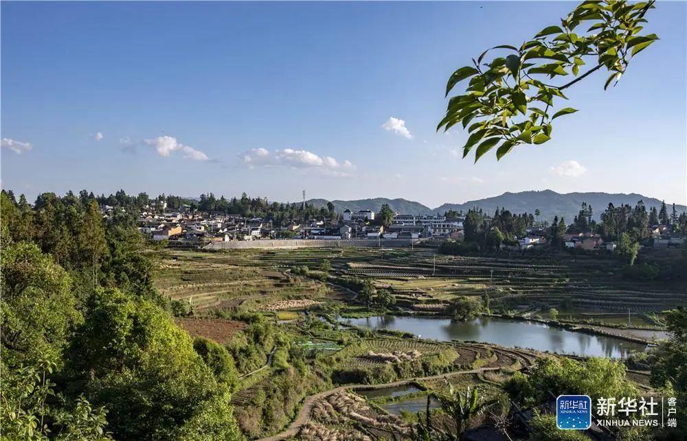 如今的腾冲市三家村村貌。摄于2020年5月。新华社记者 江文耀 摄